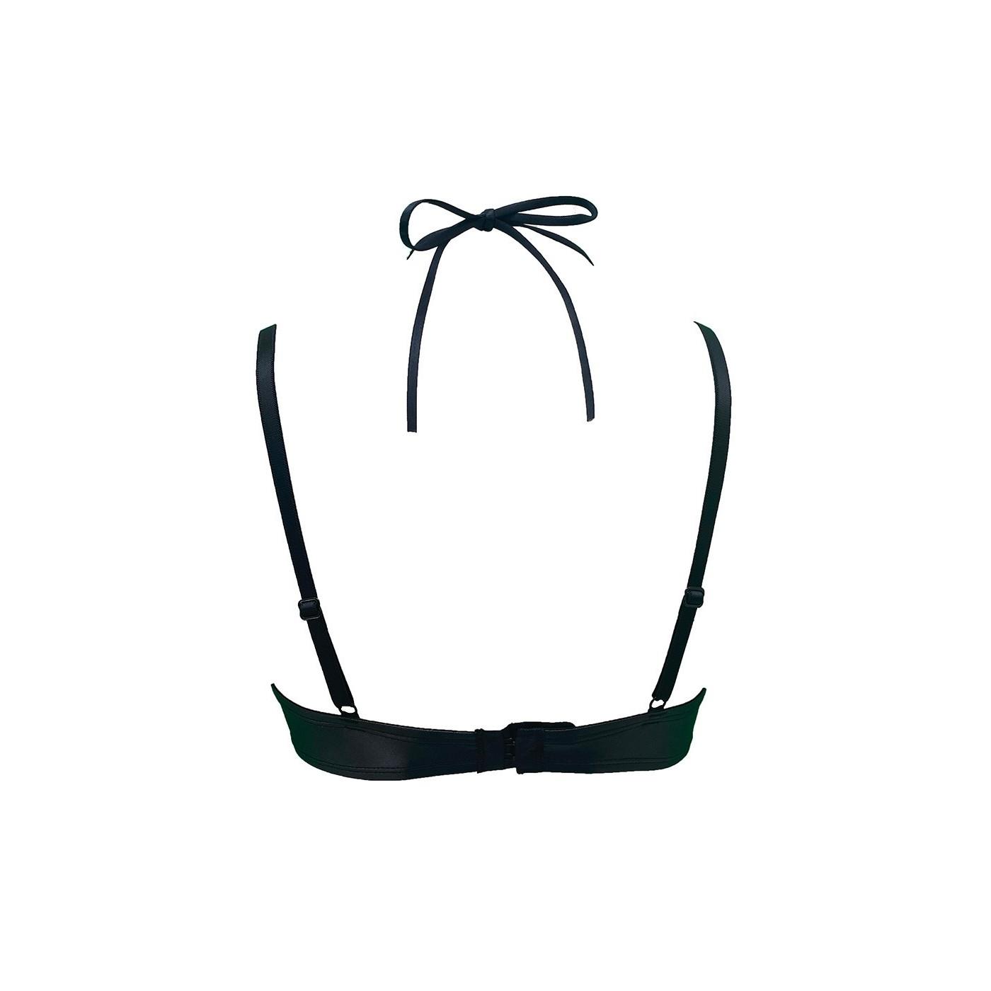 Betina, sexy black mesh bra - Patrice Catanzaro