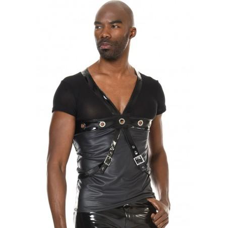 Pedro, fetish wetlook t-shirt - Patrice Catanzaro