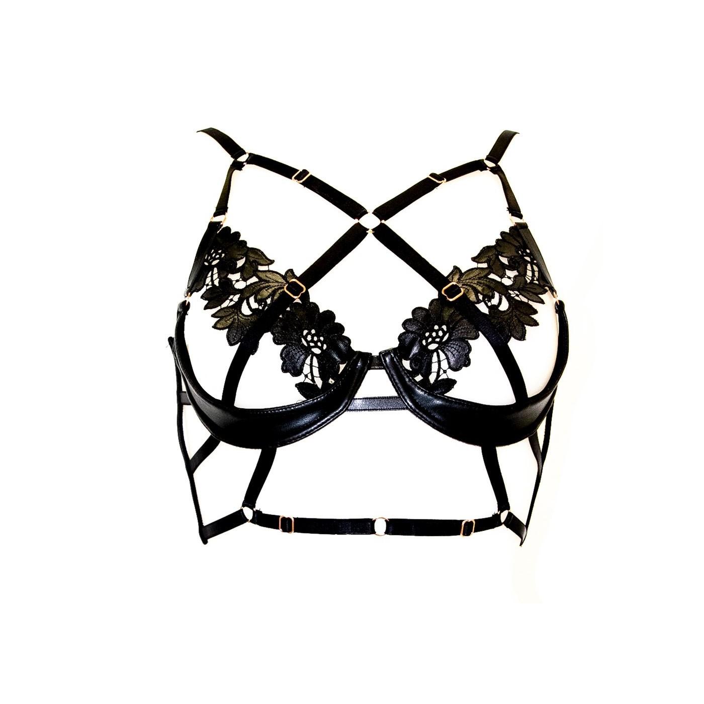 Nala Bra - Impudique Luxury Lingerie by Charlotte Catanzaro