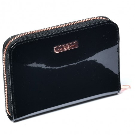 My Little Wallet, porte-monnaie noir - Maison Catanzaro