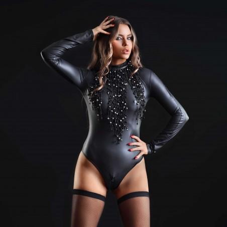 Natacha, sexy wetlook bodysuit - Patrice Catanzaro