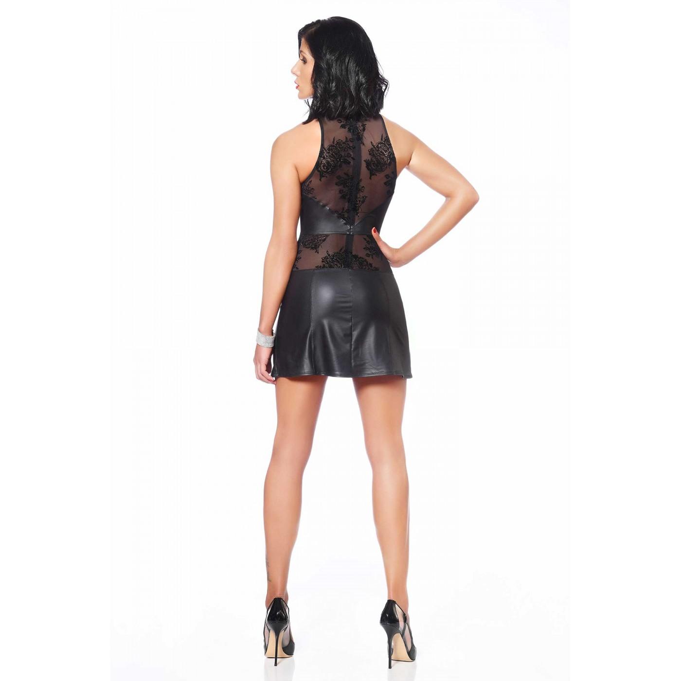 Victoria, sexy wetlook dress - Patrice Catanzaro