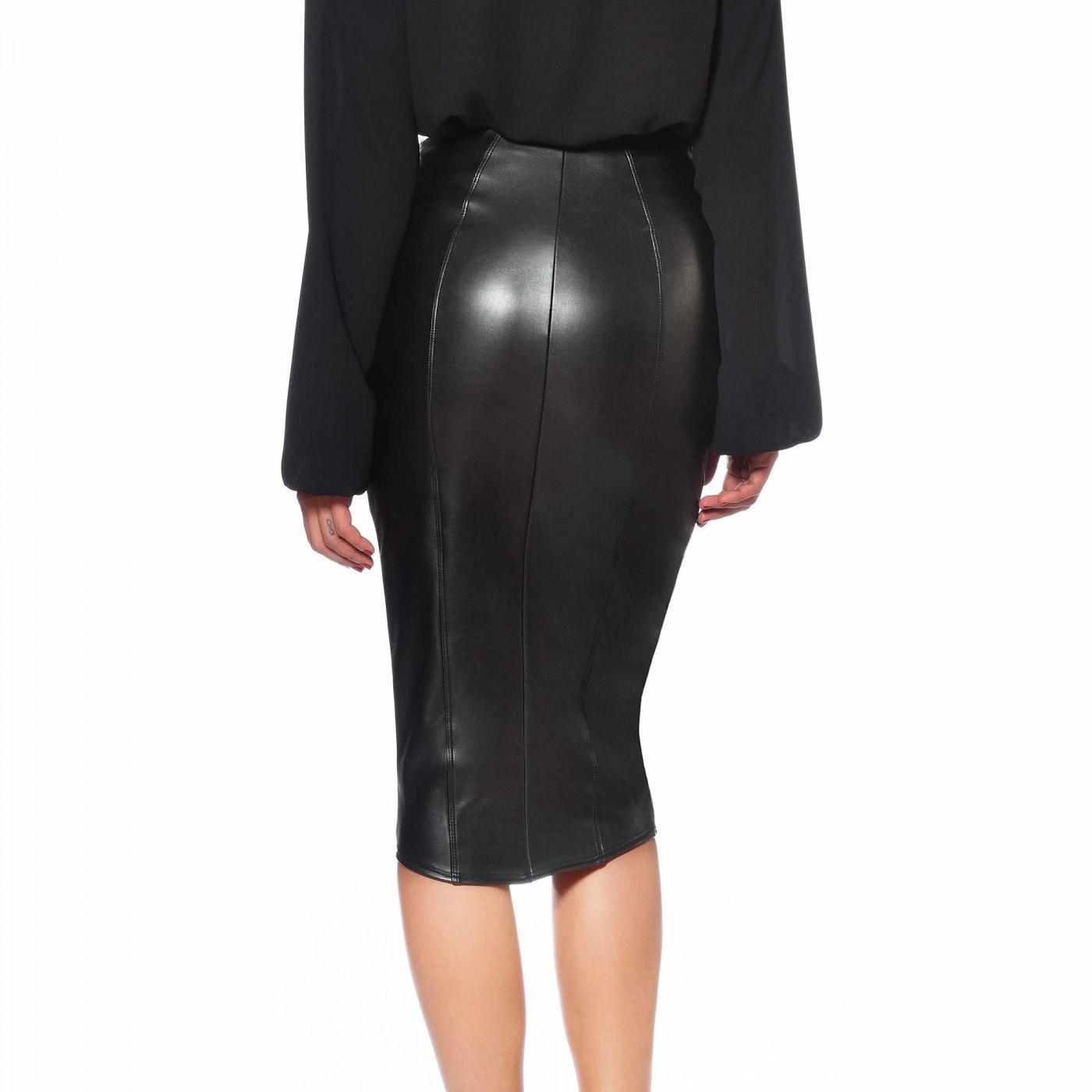 Ornella, falda sexy de polipiel - Patrice Catanzaro