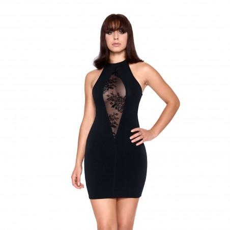 Sachi, little black lycra dress - Patrice Catanzaro