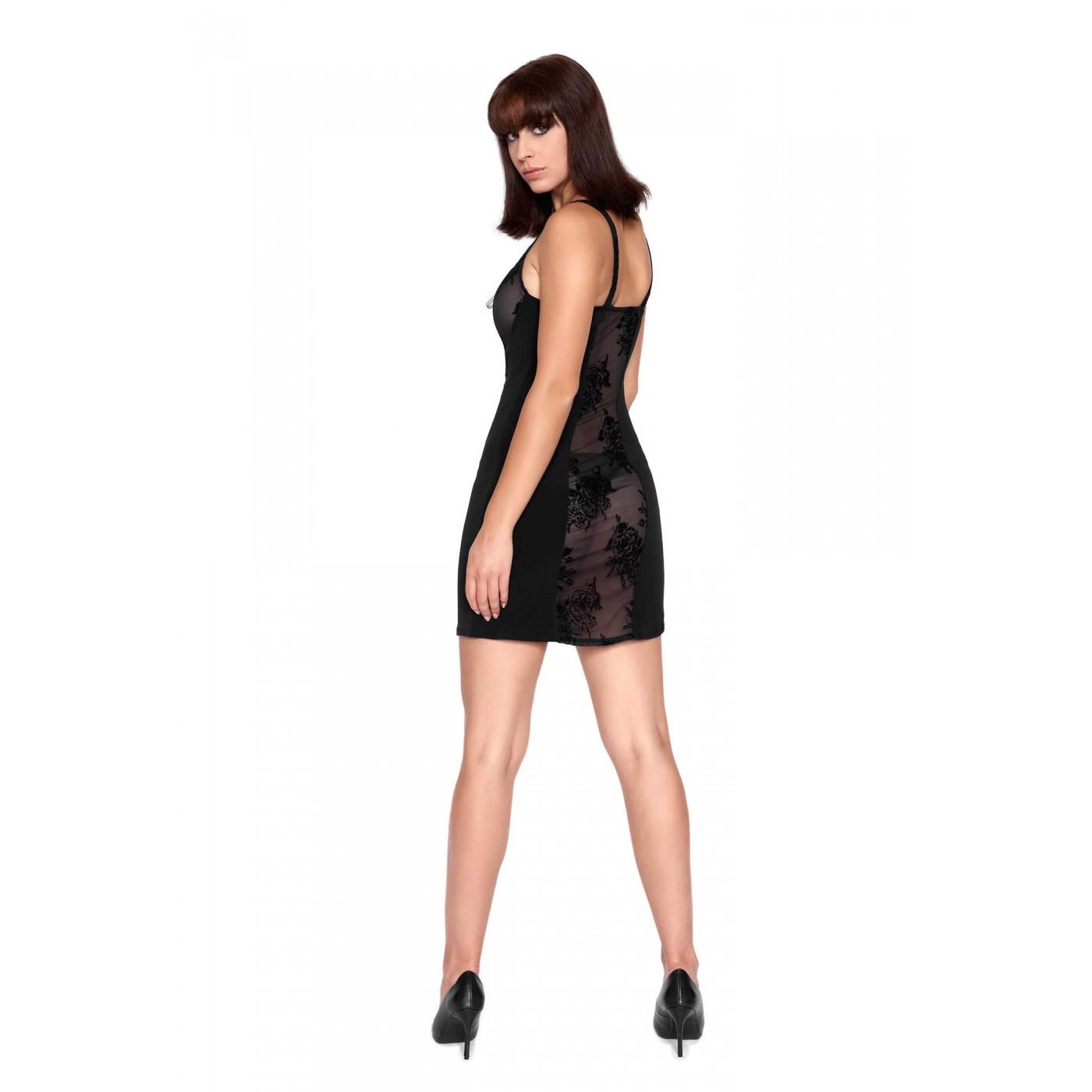 Kohana, little black lycra dress - Patrice Catanzaro
