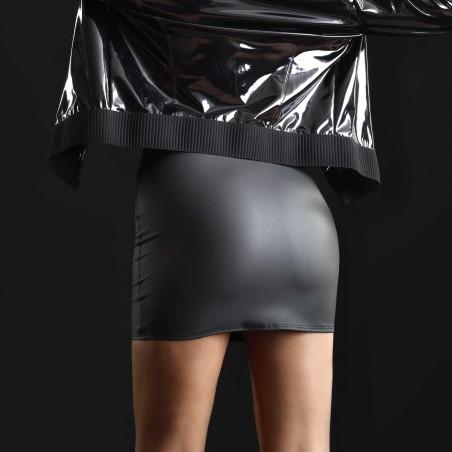 Cachou matt wetlook skirt