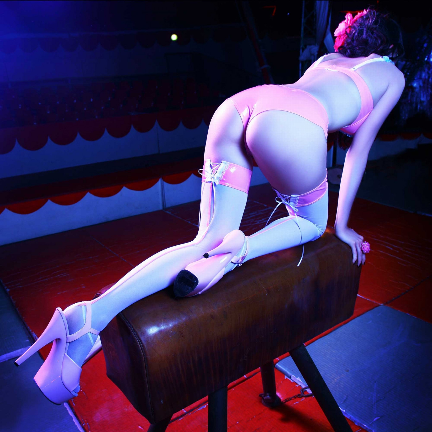 Chantilly, bas sexy résille couleur - Patrice Catanzaro