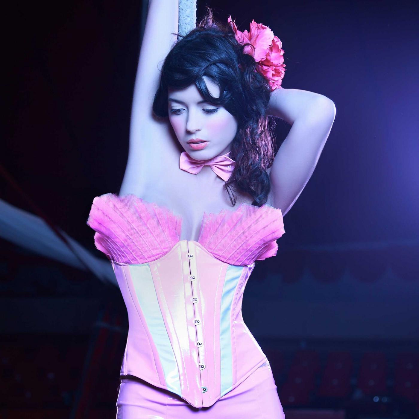 Cherry, corset sexy en vinyle - Patrice Catanzaro