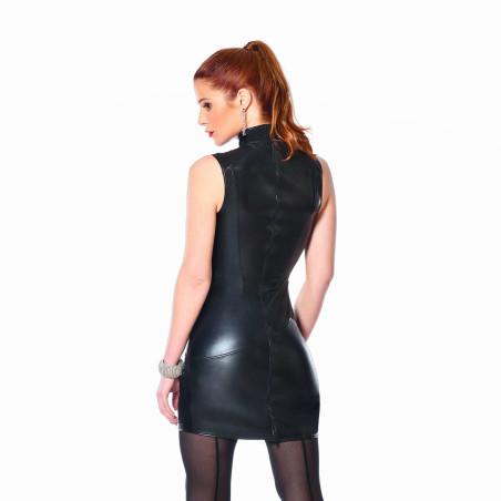 Julia, robe sexy en wetlook résille - Patrice Catanzaro