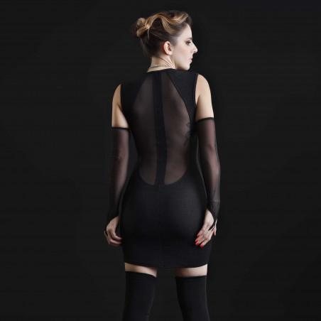 Galaxy lycra dress