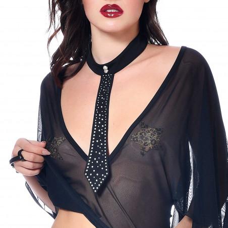 Topaze, cravate en lycra pour femme - Patrice Catanzaro site Officiel
