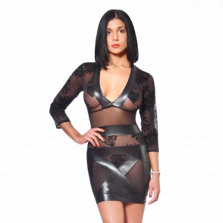 Evelina mesh dress