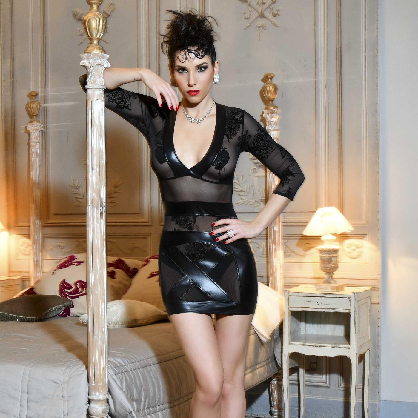 Evelina, robe fétiche en dentelle - Patrice Catanzaro