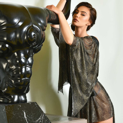 Cruella Push-Up Bra - Impudique Luxury Lingerie by Charlotte Catanzaro