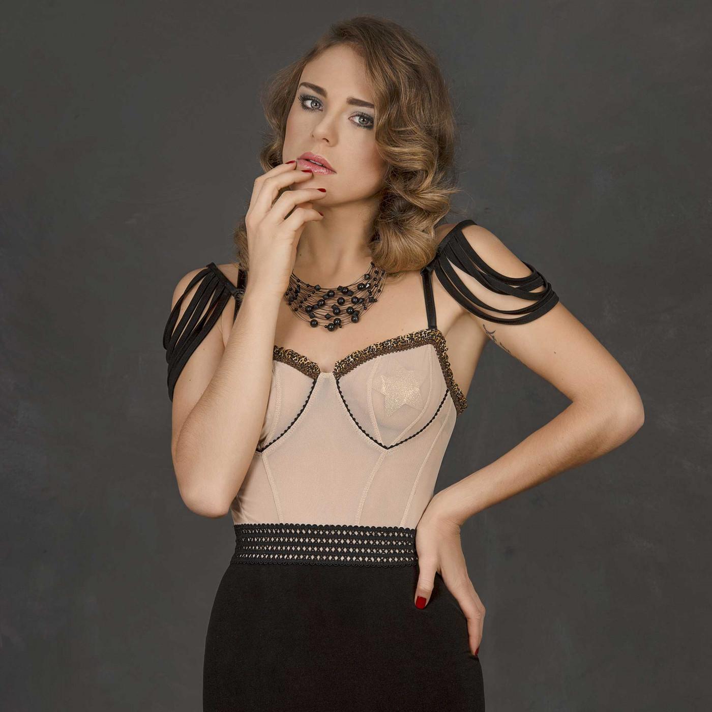 Cathy, mini robe bicolor - Patrice Catanzaro