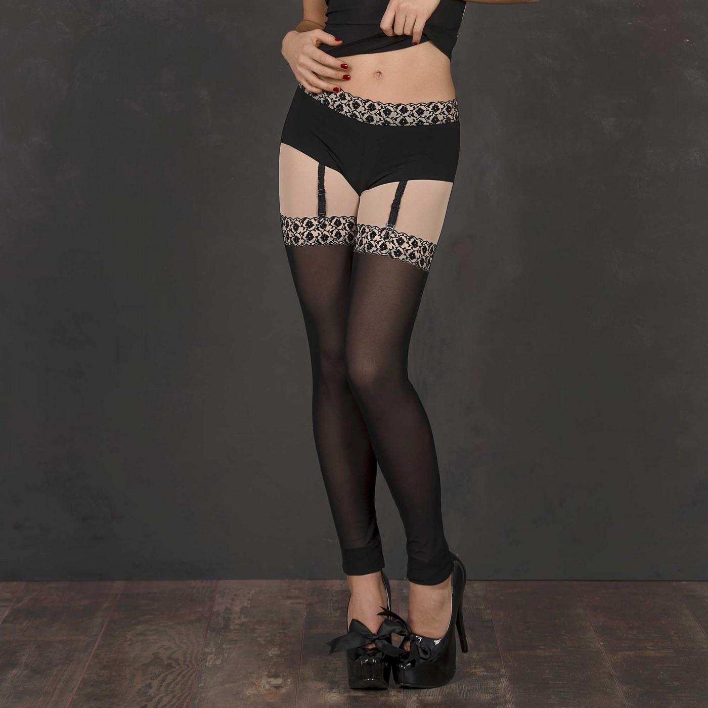 Clémence, legging sexy en lycra - Patrice Catanzaro