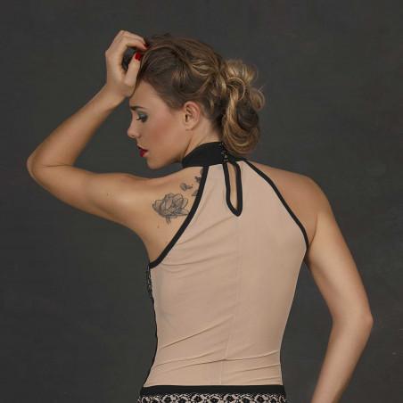 Clémence, top sexy bicolore - Patrice Catanzaro