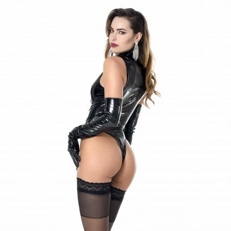 Manon vinyl bodysuit