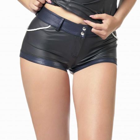 Lonnie wetlook shorts