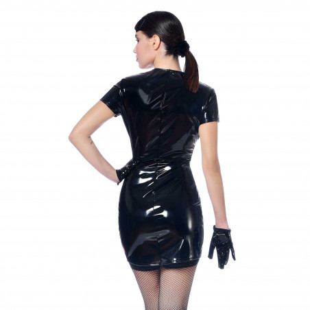 Ninon vinyl dress