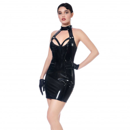 Maria vinyl dress