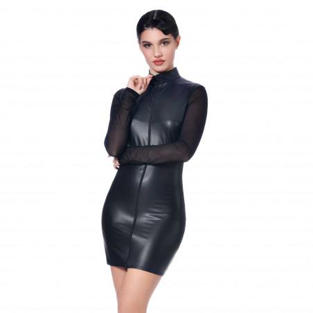 Roxanne wetlook dress