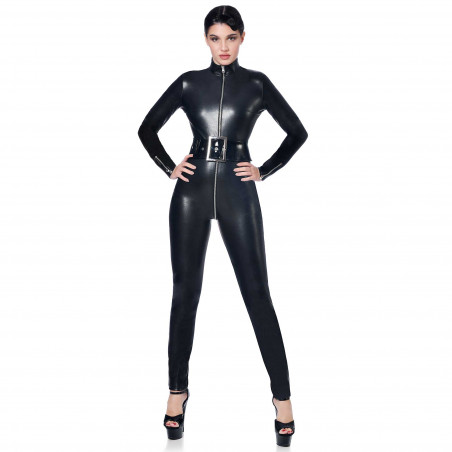 Sweety faux leather catsuit