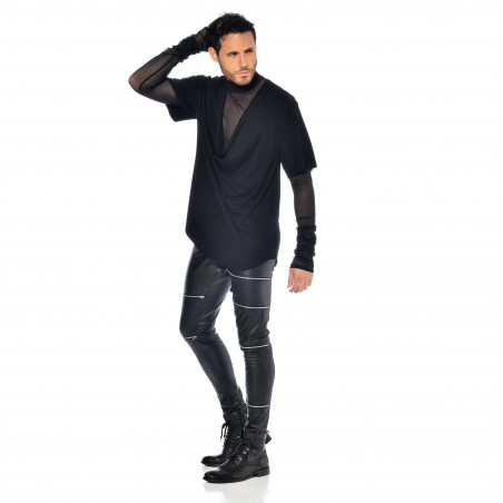 Jacob wetlook trousers