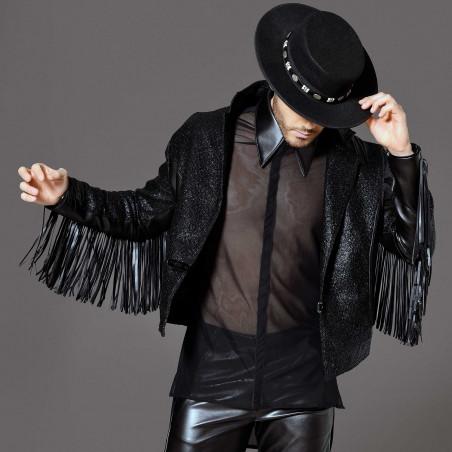 Jayden faux leather jacket