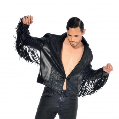 Jayden veste faux cuir