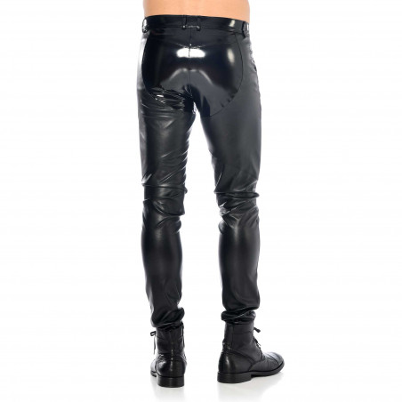 Daario faux leather trousers
