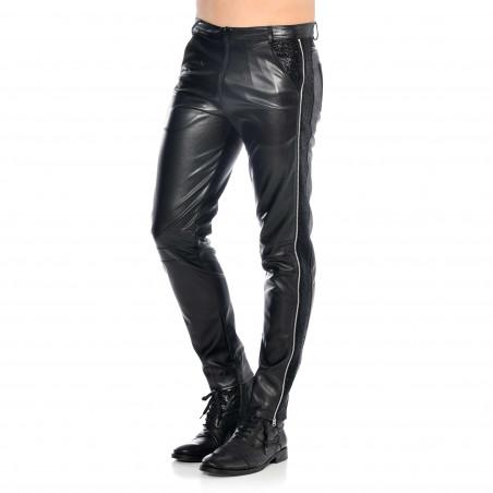 Jayden faux leather trousers