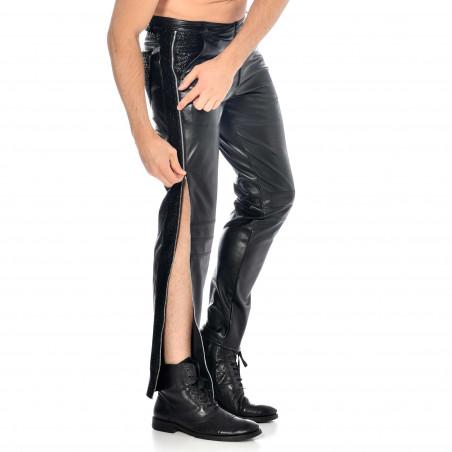 Jayden pantalon faux cuir