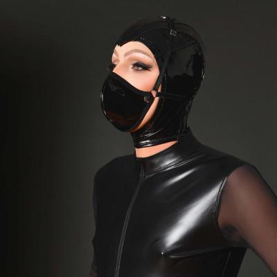 Annabelle, soutien-gorge vinyle noir - Patrice Catanzaro
