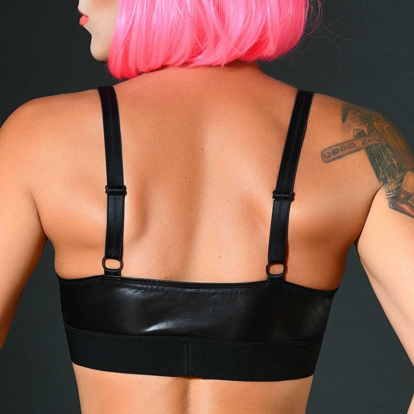 Ondine, body sexy en néoprène noir - Patrice Catanzaro