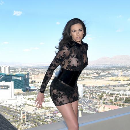 Rosie mesh dress