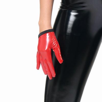 Effie, sexy black wetlook skirt - Patrice Catanzaro