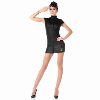 Ibiza, sexy black mesh mini skirt - Patrice Catanzaro