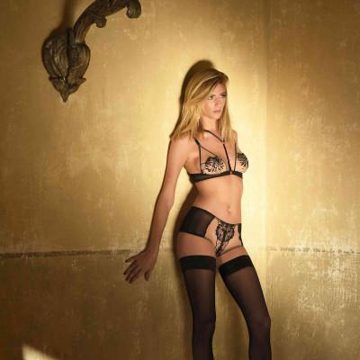 Slip Louise - Impudique lingerie by Charlotte Catanzaro