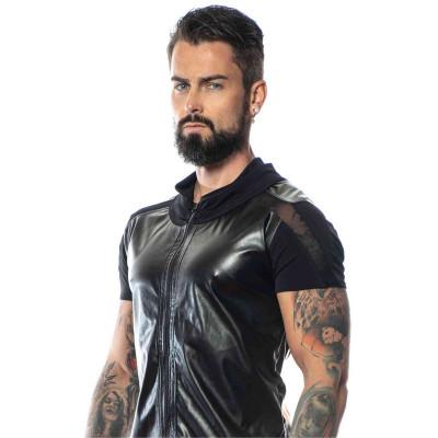 Lannister, black mesh t-shirt - Patrice Catanzaro