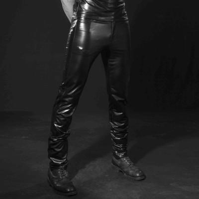Jayden, men's faux leather jacket - Patrice Catanzaro