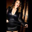 Gigine, body fétiche en wetlook noir - Patrice Catanzaro